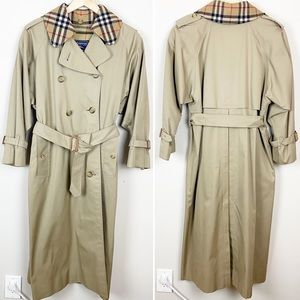 Burberry Vintage Prorsum Long Trench Coat 8L